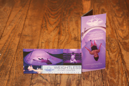 weightless float