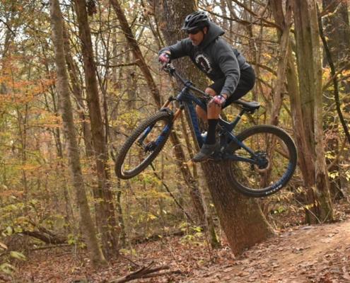 O'bannon Woods Mountain Biking